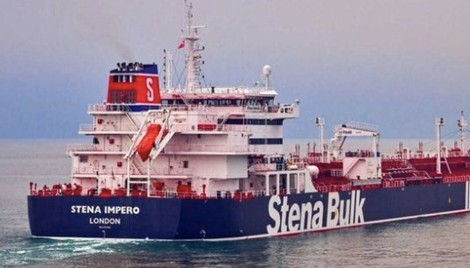 Iran 'seizes British-flagged oil tanker' - BBC