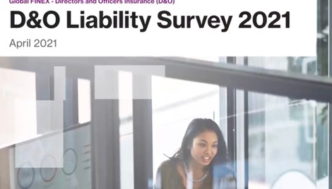 Video: Key findings from the 8th Directors' Liability Survey 2021