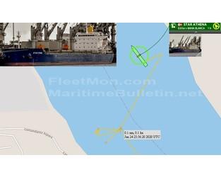 Bulk carrier grounding, Rosario - FleetMon