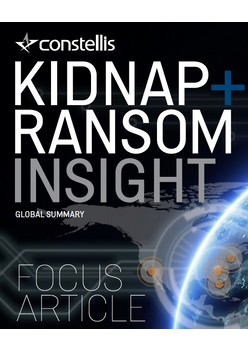 Constellis Kidnap & Ransom Insight - September 2019