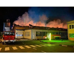 Huge Fire Destroys Europe's Biggest Ski Factory - PlanetSKI