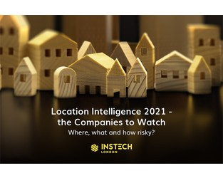 Location Intelligence 2021 - the Companies to Watch