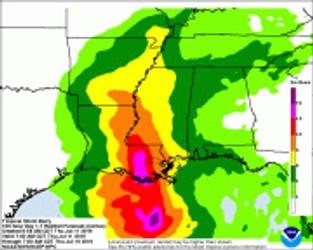 Tropical Storm Barry - Significant Flood Threat Expected