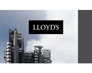 Lloyd's sets up working group to explore captive options