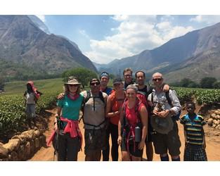 LSM team completes Malawi trek