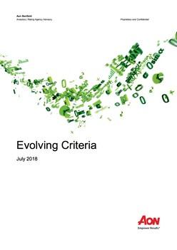 Evolving Criteria