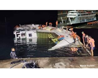 Ferry capsized at Ormoc City, Cebu, Philippines - FleetMon
