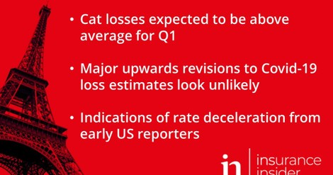 European (re)insurance Q1 earnings preview: Cats and rates in focus