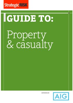 Strategic Risk guide to: Property & Casualty, supported by AIG