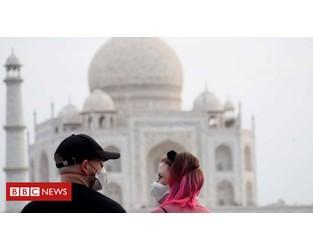 India shuts down Taj Mahal amid coronavirus fears - BBC