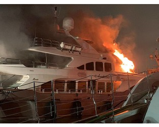 37m Benetti superyacht Andiamo damaged in fire - Superyacht Times