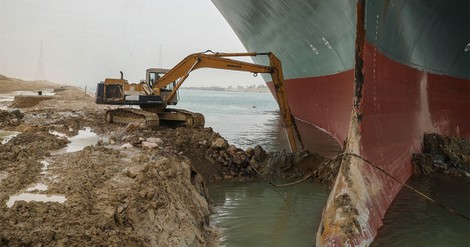 Fears recede in marine market of catastrophic Suez loss