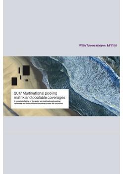2017 multinational pooling network matrix