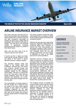 Airline Insurance Market Overview Mar 2015