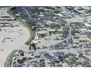 Typhoon Hagibis causes severe flooding, damage across swathe of Japan