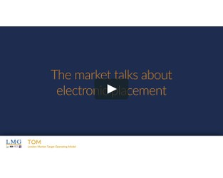 The market talks about electronic placement
