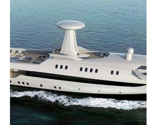 The yacht that looks like an aircraft