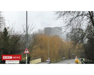 Fire at factory that makes Maltesers' centres - BBC