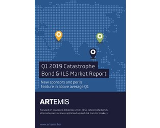 New sponsors & perils help Q1 cat bond & related ILS issuance to $2.5bn: Report