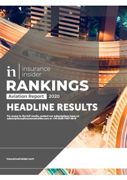 Insurance Insider Aviation Rankings Report 2020