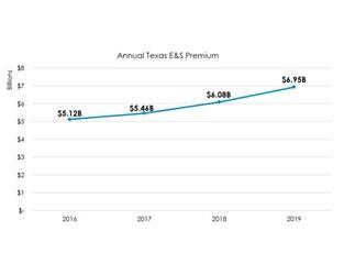 SLTX: Texas E&S Premium Up 14.3% in 2019