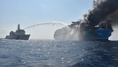 Maersk Honam Final Report Inconclusive on Fire's Source - gCaptain