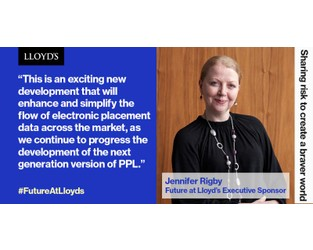 Lloyd's new API enhances and simplifies electronic placement