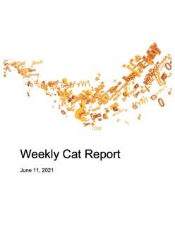 Weekly Cat Report - June 11, 2021