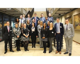 BIBA and Lloyd's joined forces to provide a group of 22 Young Brokers exclusive access into Lloyd's of London