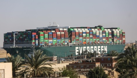 Suez Canal Authority Still in Talks About Compensation for Grounding of Container Ship