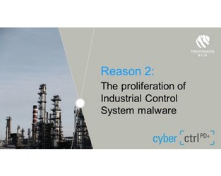 Why cyber physical damage attacks may increase - Reason 2