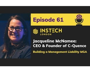 Podcast 61. Jacqueline McNamee, CEO & Founder of C-Quence. Building a Management Liability MGA