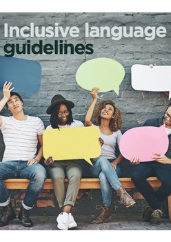 Inclusive language guidelines