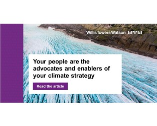 Your people are the advocates and enablers of your climate strategy