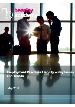 Employment Practices Liability – Key Issues and Trends