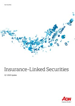Insurance-Linked Securities Q1 2020 Update