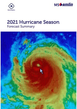 2021 Hurricane Season Forecast Summary