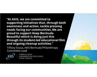 AXIS Sponsors Ocean Plastics Documentary - Bernews