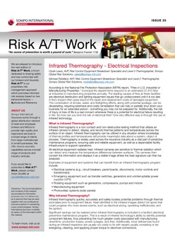 Risk A/T Work Newsletter Issue 35 (English): Infrared Thermography – Electrical Inspections