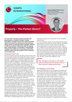 Property – The Perfect Storm?