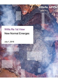 Willis Re 1st View - New Normal Emerges