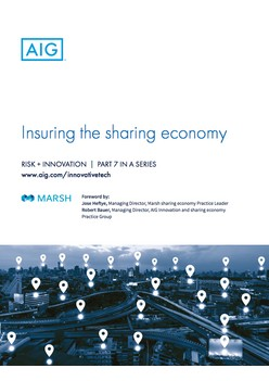 Report: Insuring the sharing economy