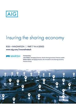 Report: Insuring the sharing economy