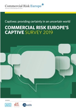Commercial Risk Europe's Captive Survey 2019