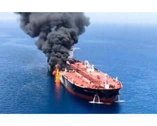 U.S. blames Iran for tanker attacks in Gulf of Oman, Iran rejects...