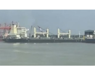 Huajiang Shipping bulker hits terminal in Taizhou - Splash 247