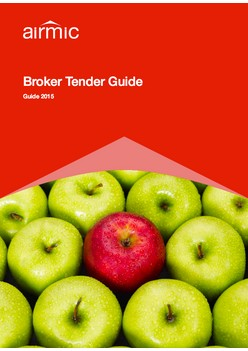Broker Tender Guide 2015
