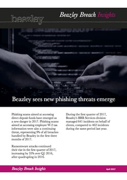 Beazley breach insights - April 2017