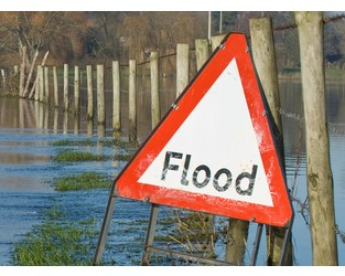 Data and analytics support innovations in flood risk management