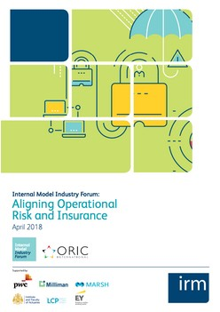 Internal Model Industry Forum: Aligning Operational Risk and Insurance
